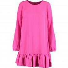 Pink Frill Mini Dress